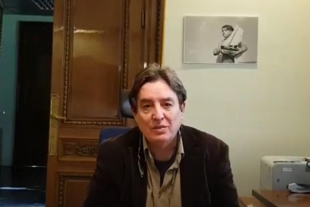 Luis García Montero anunció que Ernesto Sábato ingresará a La Caja de las Letras