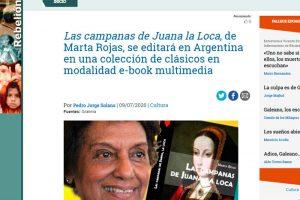 «Las campanas de Juana La Loca» en el periódico «Rebelión»