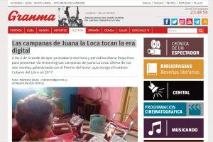 «Las campanas de Juana La Loca» en el Granma