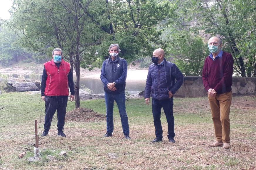 Parfeniuk: «El Bosque de la Poesía será ejemplo nacional»