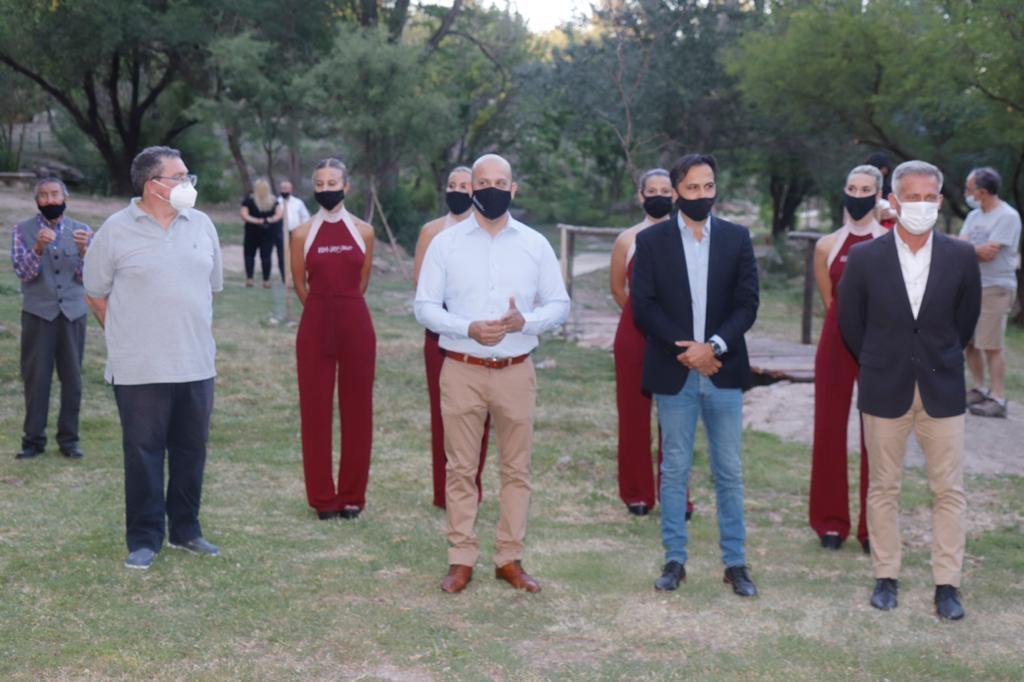 Villa Carlos Paz inauguró el Bosque de la Poesía